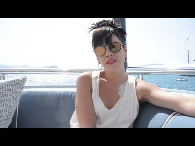 Lily Allen - Cannes Film Festival (Behind The Scenes)