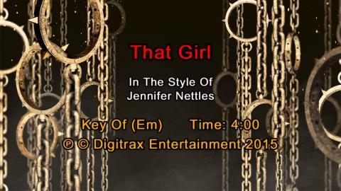 Jennifer Nettles - That Girl (Backing Track)
