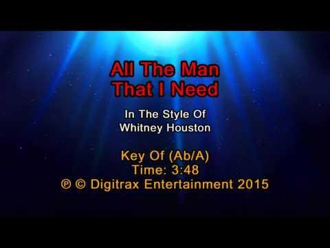 Whitney Houston - All The Man That I Need (Backing Track)