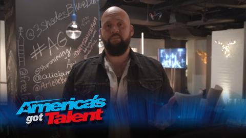 Backstage with Benton Blount - America's Got Talent 2015 (Extra)