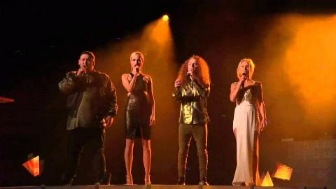 Top 12 Group Performance - The X Factor Australia 2015