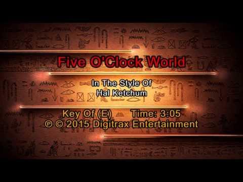 Hal Ketchum - Five O'Clock World (Backing Track)