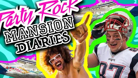 Party Rock Mansion Diaries: Gronk's Party Ship