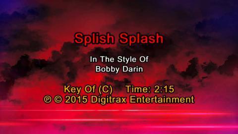 Bobby Darin - Splish Splash (Backing Track)