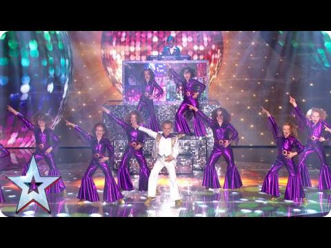 Groove Thing get their cute on! | Semi-Final 2 | Britain's Got Talent 2015