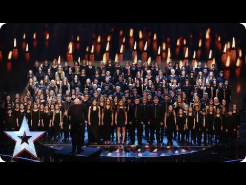 Welsh choirCôr Glanaethwy raise the roof | Semi-Final 1 | Britain's Got Talent 2015
