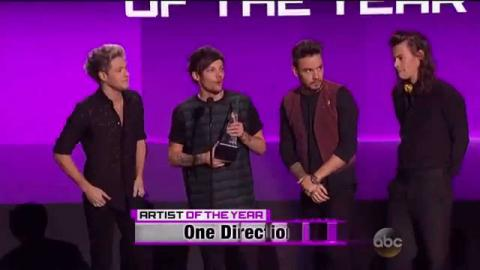 One Direction Wins Artist Of The Year AMAs 2015