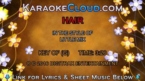 Little Mix - Hair (Backing Track)