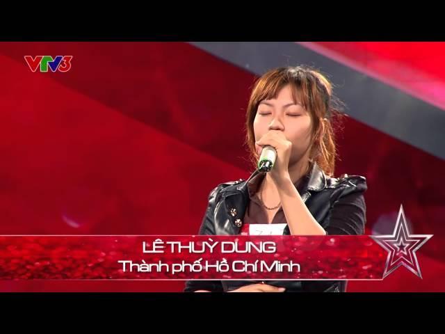 Vietnam's Got Talent 2014 - TẬP 06 -  Happy new year nhiều thứ tiếng - Lê Thùy Dung