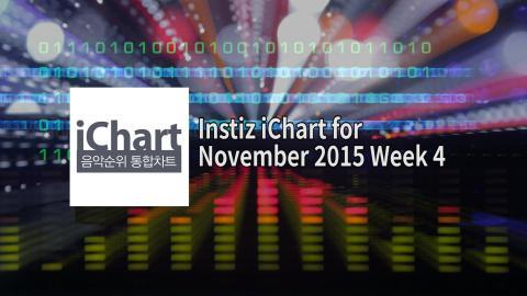 Instiz iChart K-Pop Top 20 - November 2015 Week 4