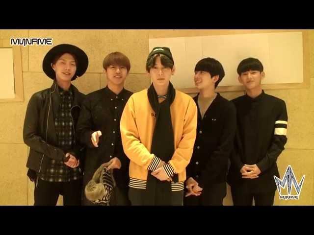 [MYNAME(마이네임)] 2015 새해 인사 (HAPPY NEW YEAR ♡)
