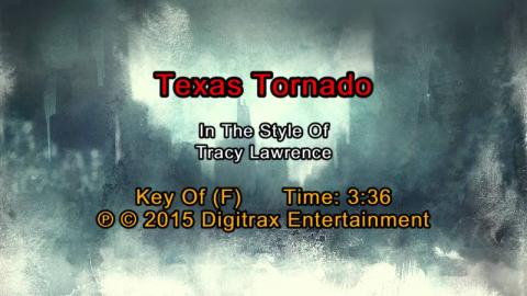 Tracy Lawrence - Texas Tornado (Backing Track)