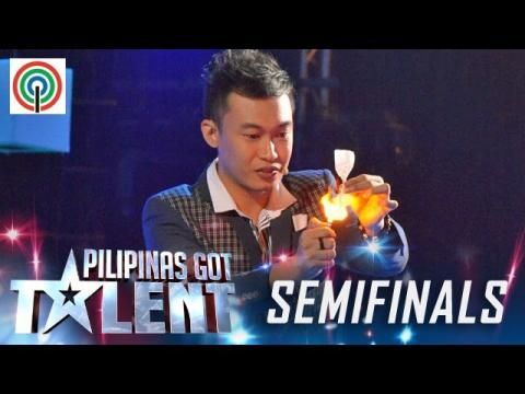 Pilipinas Got Talent Season 5 Live Semifinals: Ody Sto. Domingo - Close Up Magician