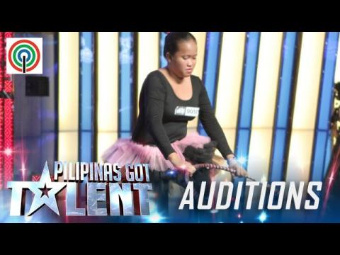Pilipinas Got Talent Season 5 Auditions: Greisanyl Abas - Hulahoop Dancer