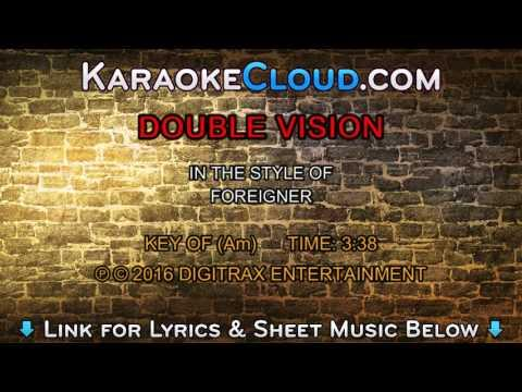 Foreigner - Double Vision (Backing Track)