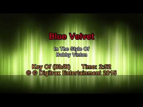 Bobby Vinton - Blue Velvet (Backing Track)