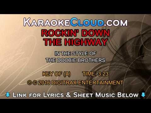 The Doobie Brothers - Rockin' Down The Highway (Backing Track)