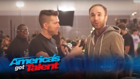 Taylor Williamson Shows Up at the AGT Auditions in Los Angeles - America's Got Talent
