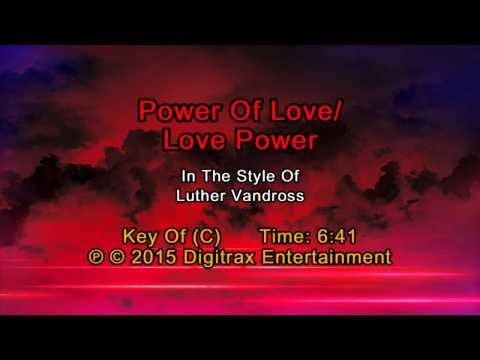 Luther Vandross - Power Of Love/Love Power (Backing Track)