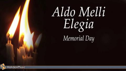 """Aldo Melli """"Elegia""""  for Memorial Day performed by Carlo Balzaretti"""