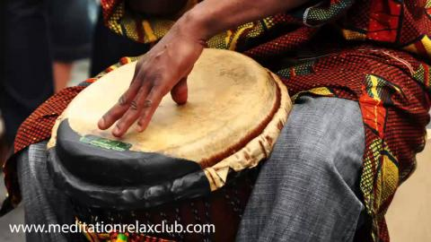 1 Hour Intense Yoga Music with Shamanic Drumming, Healing Voices & Chants for Meditation