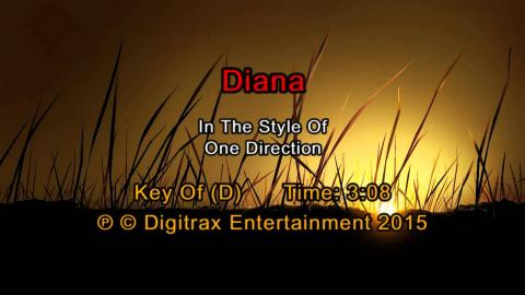 One Direction - Diana (Backing Track)