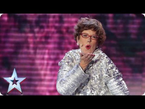 Lorraine Bowen's singing is out of this world! | Semi-Final 1 | Britain's Got Talent 2015