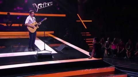 Ethan Conway Sings Unaware   The Voice Australia 2015