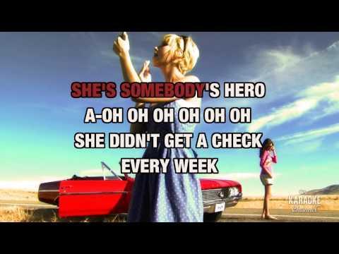 Somebody's Hero in the style of Jamie O'Neal | Karaoke with Lyrics