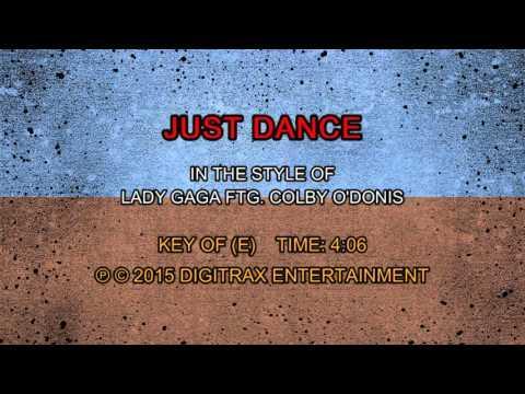 Lady Gaga - Just Dance (Backing Track)