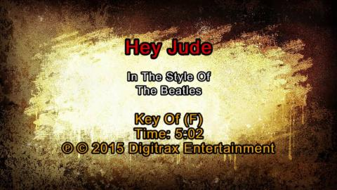 The Beatles - Hey Jude (Backing Track)