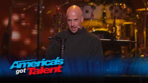 The Illusionists: Fiery Straightjacket Escape Wows Crowd - America's Got Talent 2015 (Highlight)
