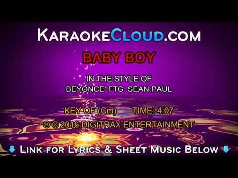 Beyonce (ftg. Sean Paul) - Baby Boy (Backing Track)