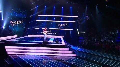 Ollie Kirk Sings Thinking Out Loud | The Voice Australia 2015