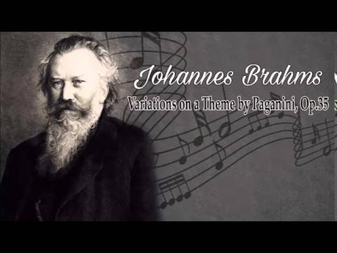 Brahms: Variations on a Theme by Paganini, Op 35 - performed by Giovanni Umberto Battel