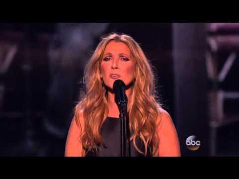 Celine Dion Tribute To France AMAs 2015