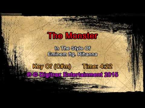 Eminem ftg. Rihanna - The Monster (Backing Track)