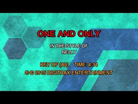 Nelly - One And Only (Backing Track)
