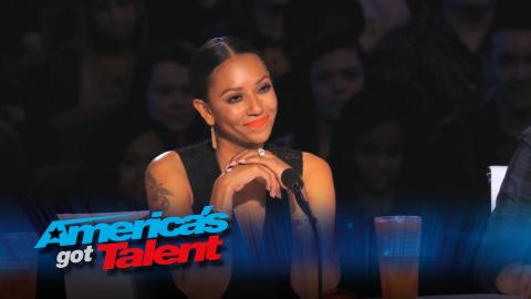 """Which Acts Drove Mel B to Say """"No"""" So Much? - America's Got Talent 2015 Supercut"""