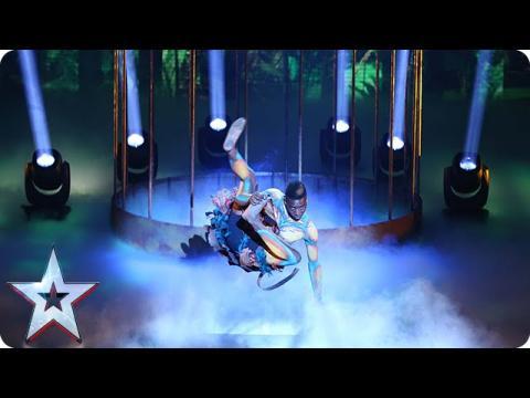 Dancer Bonetics is in bit of a bind | Semi-Final 2 | Britain's Got Talent 2015