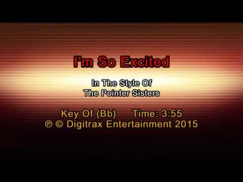 The Pointer Sisters - I'm So Excited (Backing Track)