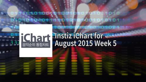 Instiz iChart K-Pop Top 20 - August 2015 Week 5