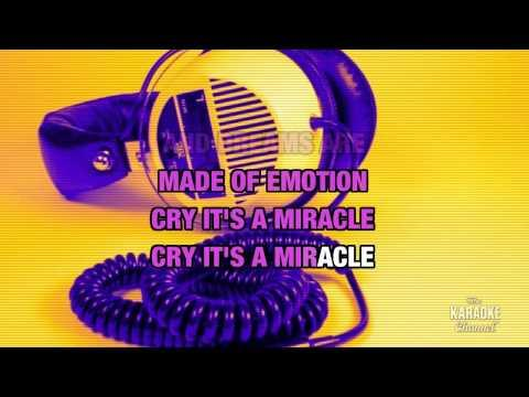 It's A Miracle in the style of Culture Club | Karaoke with Lyrics