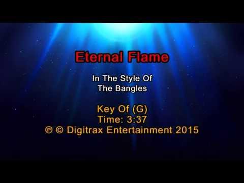 The Bangles - Eternal Flame (Backing Track)