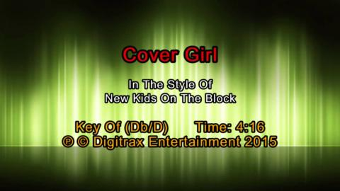 New Kids On The Block - Cover Girl (Backing Track)