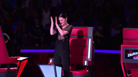 Paris Sings Out Here On My Own | The Voice Australia 2015