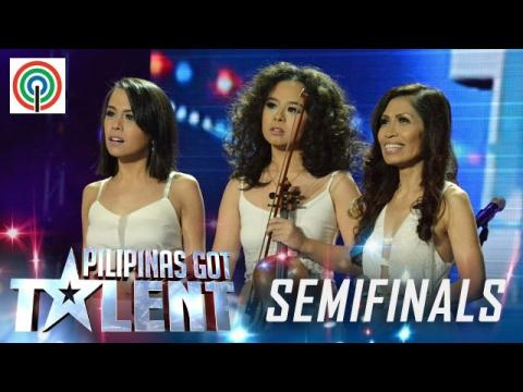 Pilipinas Got Talent Season 5 Live Semifinals: The Raes - Mother and Daughters Band
