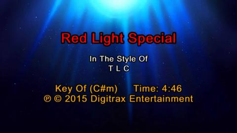 TLC - Red Light Special  (Backing Track)