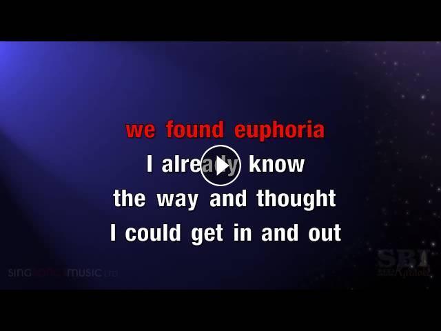 Euphoria karaoke hd in the style of usher swedish for Euphoric house music