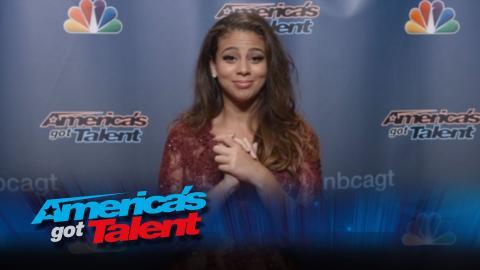 Backstage with Samantha Johnson - America's Got Talent 2015 (Extra)